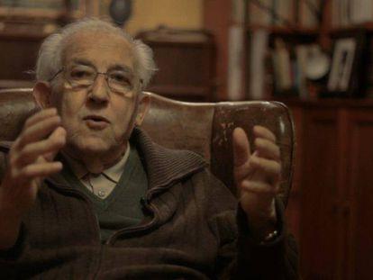 El filósofo Gustavo Bueno.
