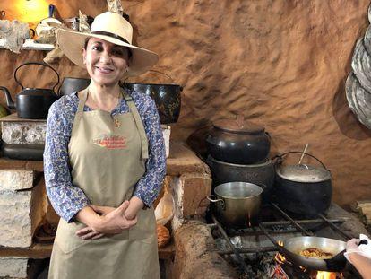 La chef arequipeña Mónica Huerta.
