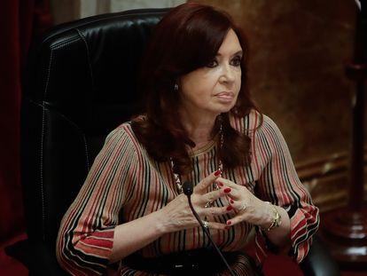 La vicepresidenta argentina Cristina Fernández de Kirchner.