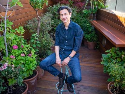 Rodrigo Cortés, retratado el lunes en un hotel madrileño.