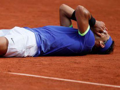 Nadal nunca había arrasado así un torneo de Grand Slam. Quemó a Wawrinka, hizo arder la pista bajo un rosario de golpes