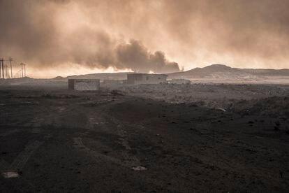 Una zona del norte de Irak arrasada por la guerra del ISIS en 2016.