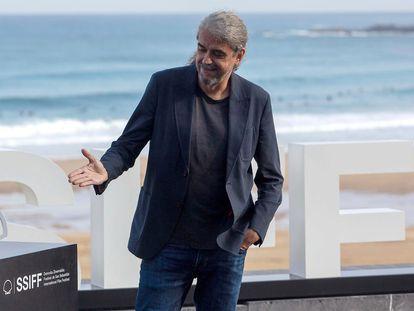 Fernando León presenta en San Sebastián 'El buen patrón'.