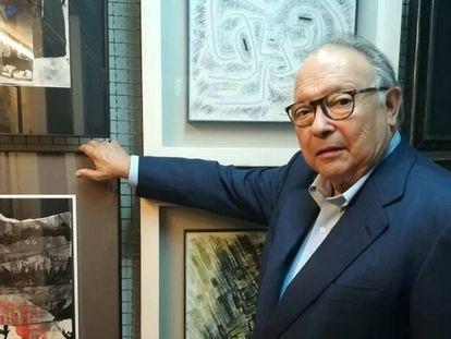 El galerista Joan Gaspar, fallecido este jueves en Barcelona.