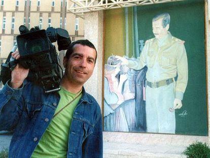 El cámara José Couso, en una imagen de 2003.