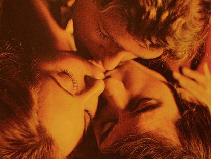María Luisa San José, José Sacristan y José Luis Alonso, en 'El Diputado' (1978).
