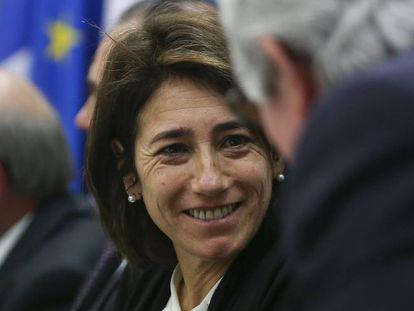 La ministra de Administración Interna, Constança Urbano.