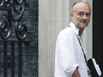 Dominic Cummings entra en el 10 de Downing Street el pasado 30 de julio.