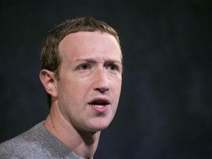 El CEO y fundador de Facebook, Mark Zuckerberg.