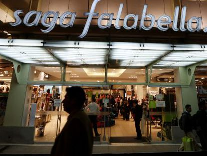 Centro comercial de Falabella en Lima, Perú.