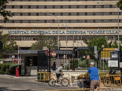 El Hospital Gómez Ulla de Madrid, que no dio respuesta a una enferma que pedía la eutanasia y acabó suicidándose.
