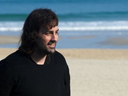 El director español Isaki Lacuesta, hoy en San Sebastián.