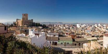 Vista panorámica de Villena.