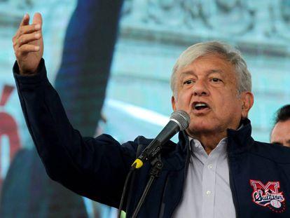 El presidente electo en un evento el 19 de octubre.