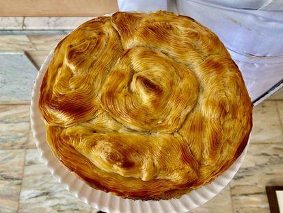 Pastel de carne de l pastelería Bonache. J.C. CAPEL