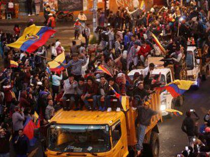 Lenín Moreno defiende sus ajustes económicos pese a las protestas en la capital ecuatoriana