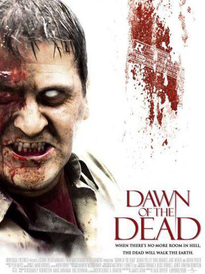 Cover de la película 'Amanecer de los muertos' (2004).