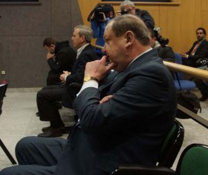 Gamarra, durante el juicio en la Audiencia Provincial.