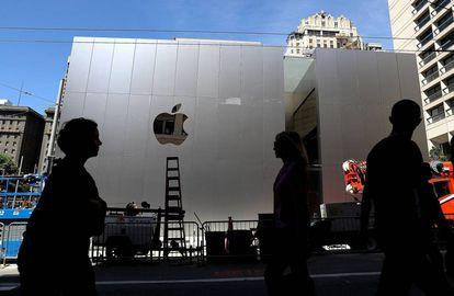 La nueva tienda de Apple en Union Square, uno de los lugares emblemáticos de San Francisco.