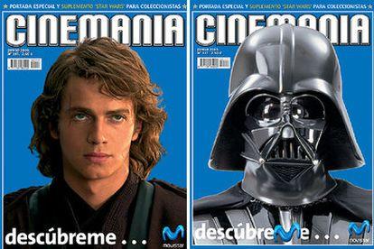 La conversión de Hayden Christensen como héroe Anakin Skywalker al malvado Darth Vader.