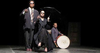 Un momento de 'Hamlet de Los Andes' que puede verse en Sevilla.