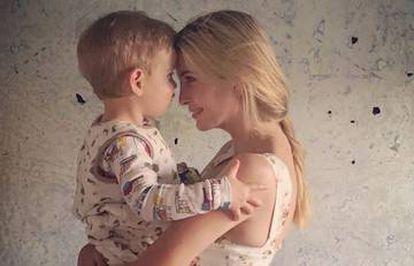 Ivanka Trump junto a su hijo Theodore en una imagen publicada en su Instagram-