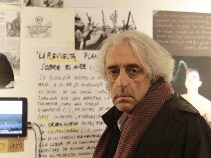 Juan Barja, durante una entrevista con EFE en 2008, en Montevideo (Uruguay).