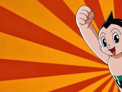 'Astro Boy', la creación más conocida de Osamu Tezuka.