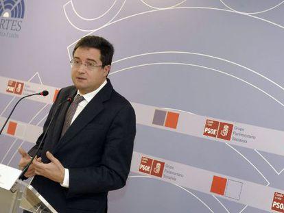 Óscar López, secretario de Organización del PSOE, en una imagen de archivo.