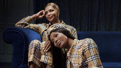 Naomi Campbell y su madre, protagonistas de la campaña de Navidad de Burberry