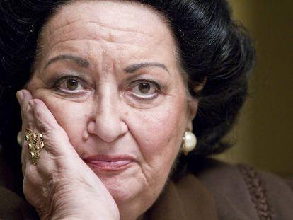 Montserrat Caballé en una imagen de archivo.