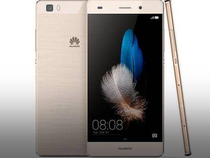Huawei P8 Lite, el móvil más vendido.