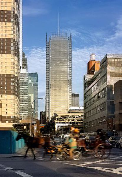 La torre de 'The New York Times' en Manhattan.