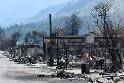 El pueblo de Lytton, en la Columbia Británica canadiense, quedó arrasado por los incendios forestales que se sucedieron tras la histórica ola de calor que se vivió en junio en Norteamérica.