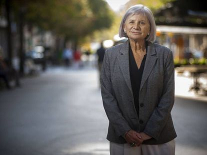 La escritora Alicia Giménez Bartlett, este septiembre, en Barcelona.