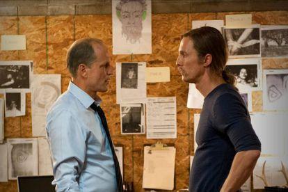 Woody Harrelson y Matthew McConaughey, en 'True Detective'.