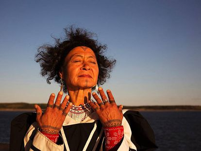 La activista y artista inuit Aaju Peter.