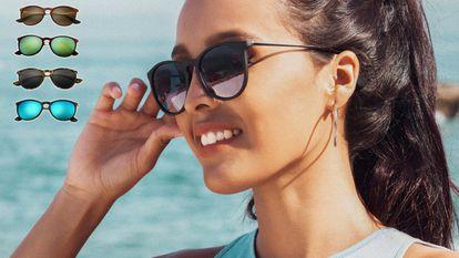 Elegimos estas gafas de sol baratas con montura 'vintage' y a la venta en una docena de colores.