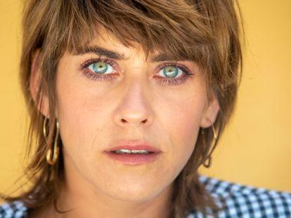 María León, actriz.