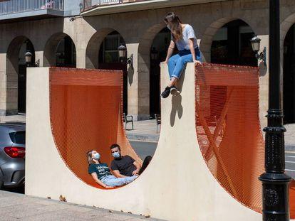 Arch-Play, de Silvia Bachetti y Agnese Casadio, en el festival Concéntrico 06 (Logroño). |