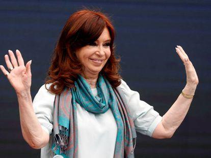 Cristina Fernández de Kirchner, en noviembre pasado.