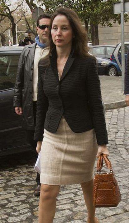 La juez que investiga el caso ERE en Andalucía, Mercedes Alaya.