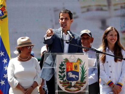 El presidente de la Asamblea Nacional reta a Maduro y anuncia que los envíos entrarán en Venezuela  sí o sí  el 23 de febrero