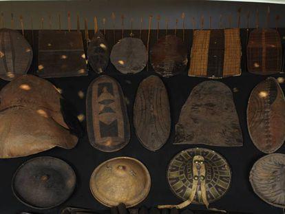 Exposición sobre la relación de Occidente con las culturas de África en el Museo de Quai Branly, de París.