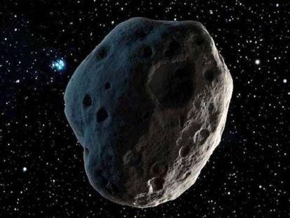 El asteroide Florence.