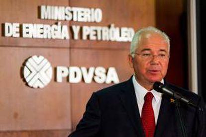 El ministro de energía y petróleo y presidente de Petróleos de Venezuela (PDVSA), Rafael Ramírez. EFE/Archivo