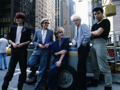 Duran Duran, en Nueva York, en septiembre de 1981.