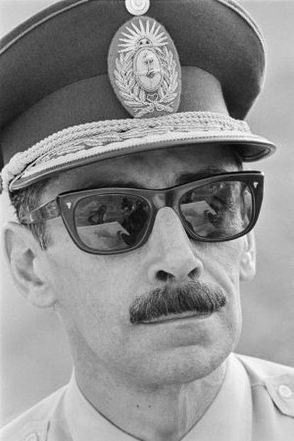 El dictador argentino Jorge Rafael Videla, en 1976