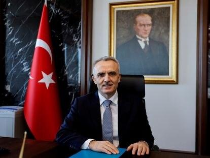 El hasta hoy gobernador del banco central turco, Naci Agbal, el pasado 4 de febrero.