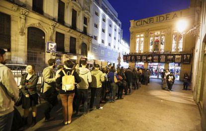 Los cines Ideal, de Yelmo, en el centro de Madrid